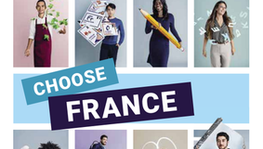 "Start der Info-Kampagne ""Bienvenue en France – Choose France"" (...)"