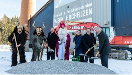 Dolomite Resource Center Europe: Erster Spatenstich in Hochfilzen (...)